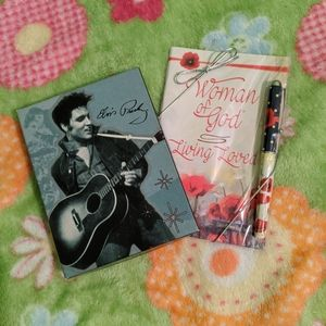 Greeting card and devotional book